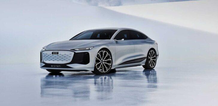 Audi A6 e-tron. Фото Audi