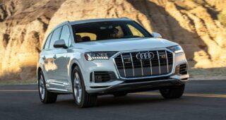 Audi Q7. Фото Audi