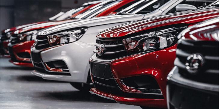 Автомобили LADA. Фото АвтоВАЗ