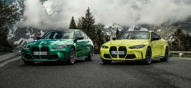 BMW M3 и M4 xDrive. Фото BMW
