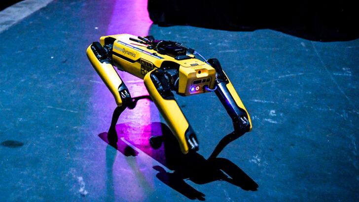 Робот-собака Boston Dynamics Spot. Фото KieranH75 (CC BY-SA 4.0)
