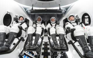 Экипаж миссии Crew-1. Фото SpaceX