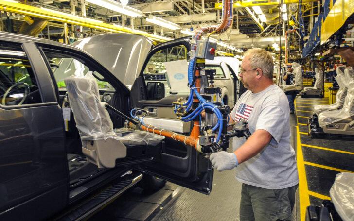 Производственная линия Ford. Фото Ford (CC BY-NC 2.0)