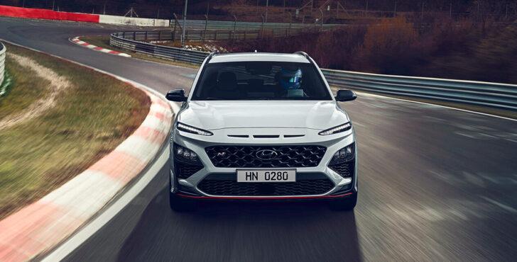 Hyundai Kona N. Фото Hyundai