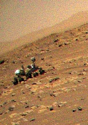 Фрагмент. Фото NASA/JPL-Caltech