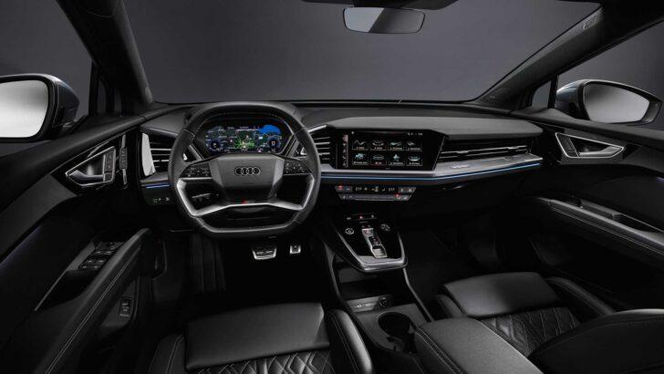 Интерьер Audi Q4 e-tron. Фото Audi