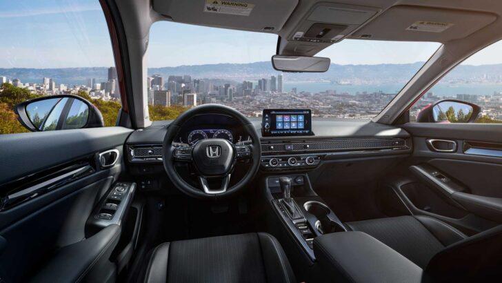 Интерьер Honda Civic. Фото Honda