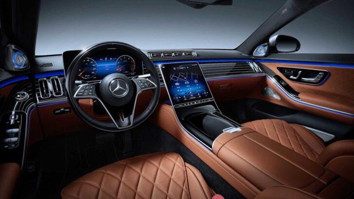 Интерьер Mercedes-Benz S-Class. Фото Mercedes-Benz