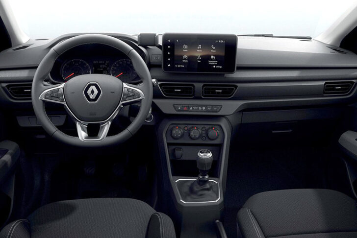 Интерьер Renault Taliant. Фото Renault