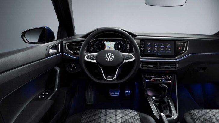 Интерьер Volkswagen Polo. Фото Volkswagen