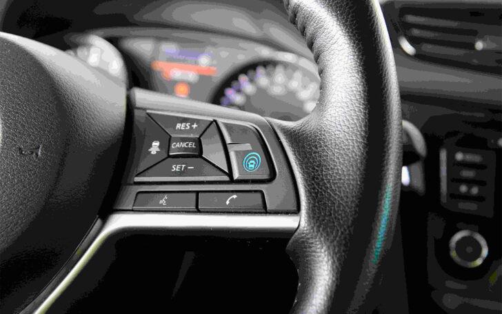 Кнопки управления системой ProPilot. Фото Nissan