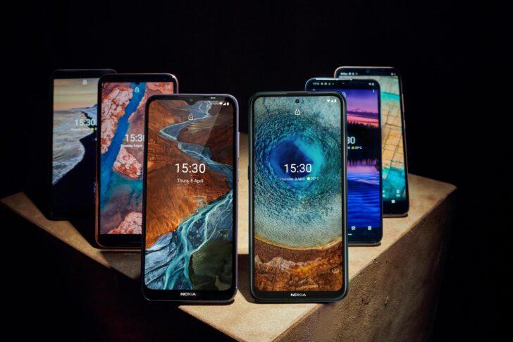 Смартфоны Nokia. Фото HMD