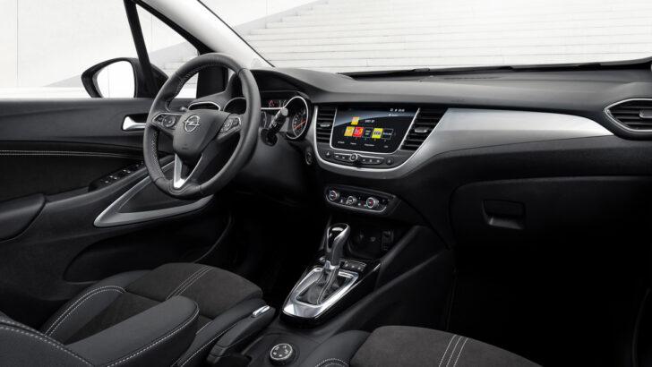 Интерьер Opel Crossland. Фото Opel
