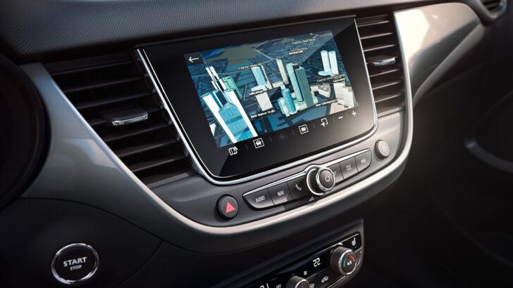 Мультимедийная система Opel Crossland. Фото Opel