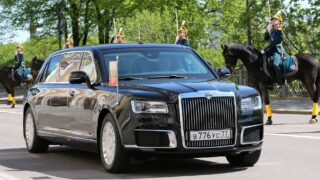 Президентский Aurus Senat. Фото kremlin.ru