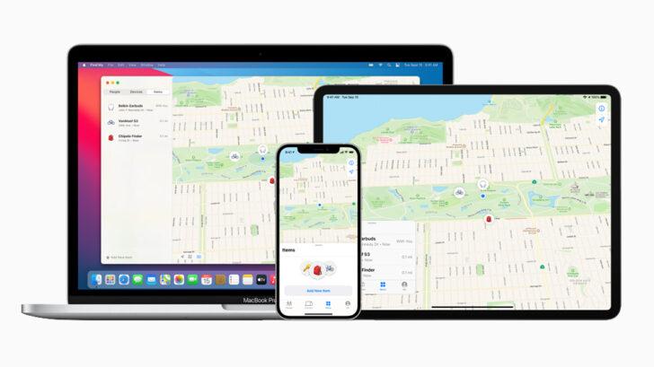 Приложение «Локатор» от Apple. Фото Apple