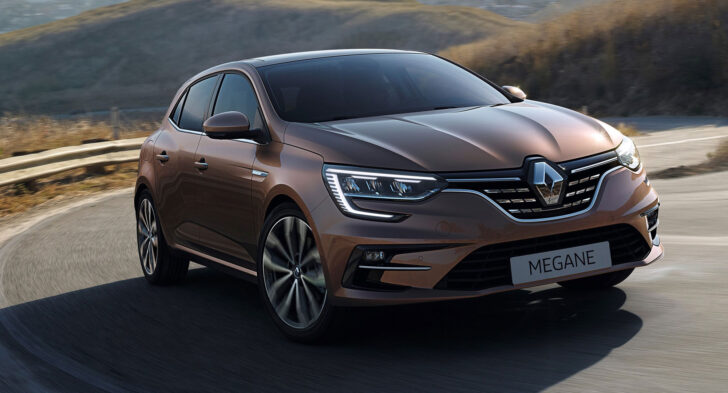 Renault Megane. Фото Renault