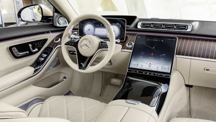 Салон Mercedes-Maybach S-Class. Фото Mercedes-Benz