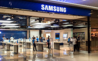 Магазин Samsung. Фото Hans Olav Lien (CC BY-SA 3.0)