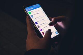 Telegram. Фото Christian Wiediger / Unsplash