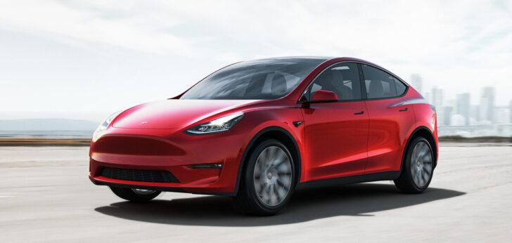 Tesla Model Y. Фото Tesla