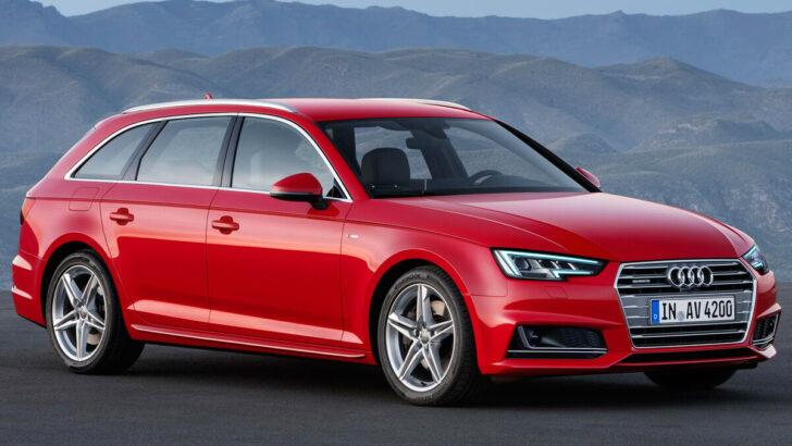 Audi A4 Avant. Фото Audi