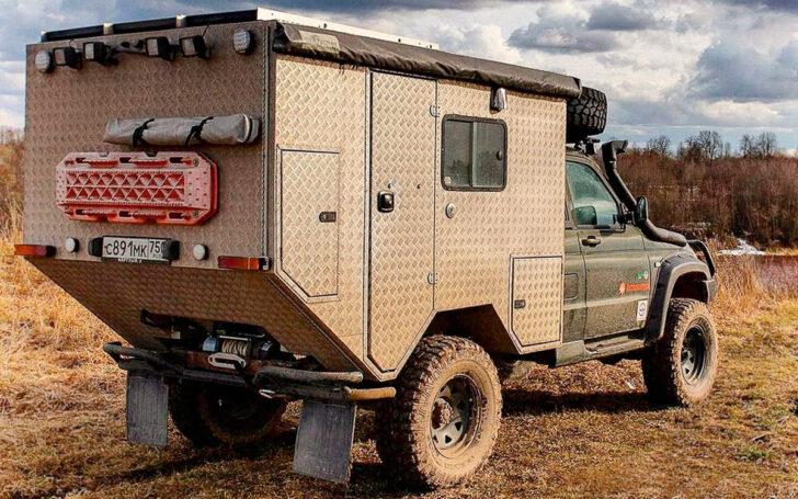 Автодом на базе УАЗ «Патриот». Фото УАЗ