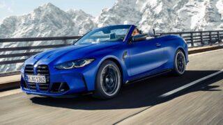 BMW M4 Competition Cabrio. Фото BMW