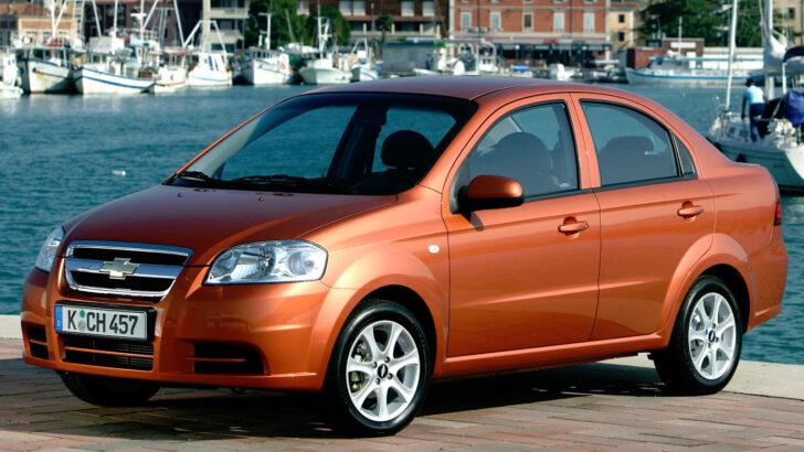 Chevrolet Aveo. Фото Chevrolet