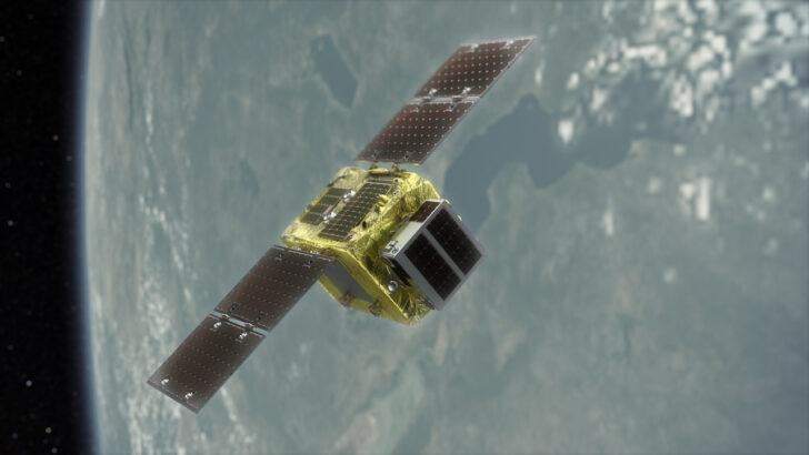 Космический аппарат ELSA-d. Фото Astroscale (CC BY-SA 4.0)