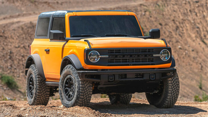 Ford Bronco. Фото Ford
