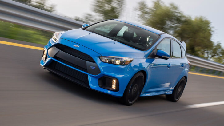 Ford Focus RS. Фото Ford