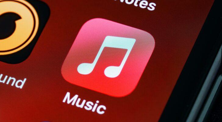 Иконка приложения Apple Music. Фото Brett Jordan / Unsplash