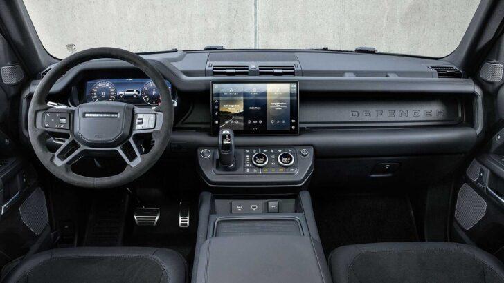 Интерьер Land Rover Defender. Фото Land Rover