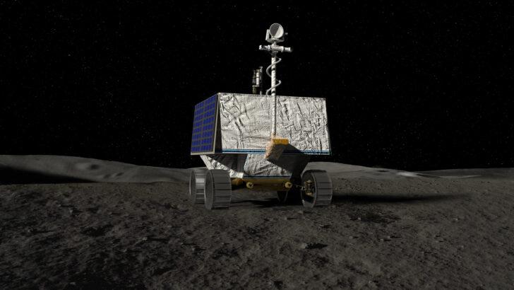 Луноход Viper. Иллюстрация NASA
