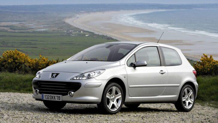 Peugeot 307. Фото Peugeot