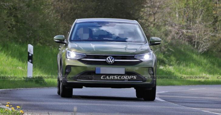Прототип Volkswagen Nivus. Фото Carscoops.com