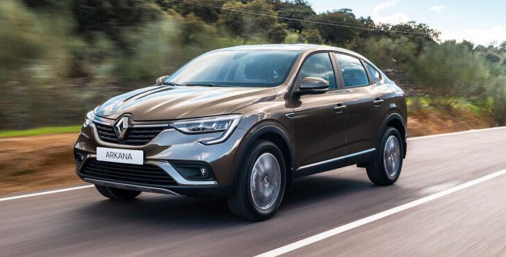 Renault Arkana. Фото Renault
