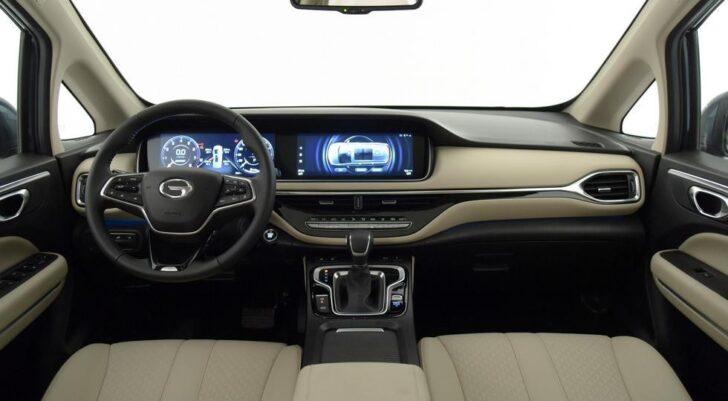 Салон GAC M6 Pro. Фото autohome.com.cn