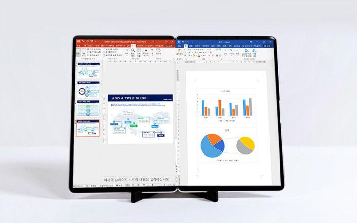 Складной дисплей. Фото Samsung