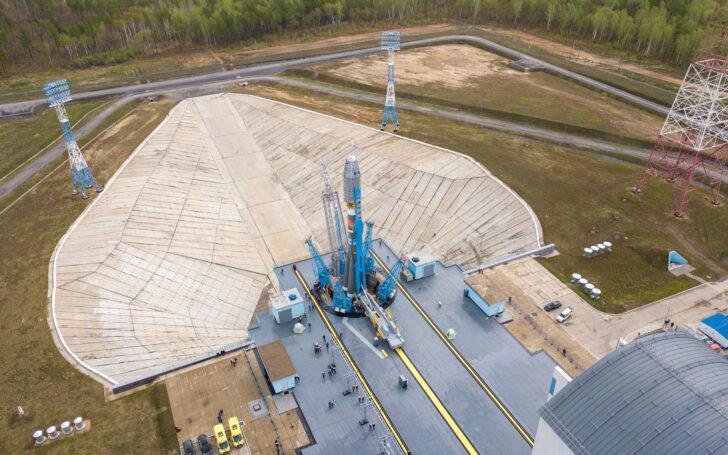 РКН «Союз-2.1б» с КА OneWeb. Фото «Роскосмоса»