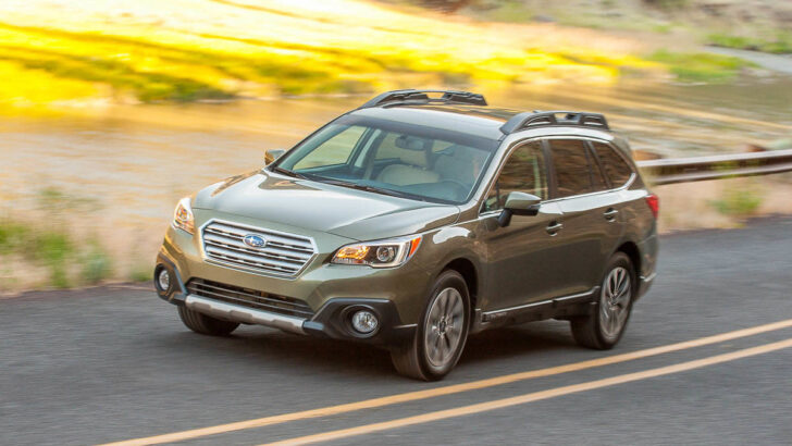 Subaru Outback. Фото Subaru