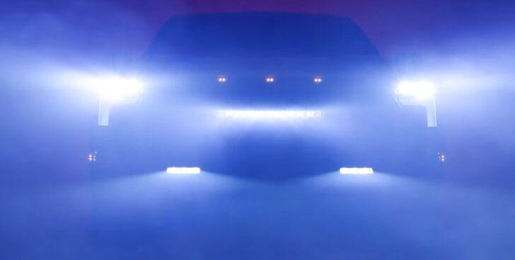 Toyota Tundra Teaser. Фото Toyota