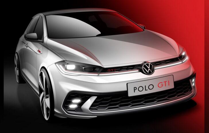 Volkswagen Polo GTI Teaser. Фото Volkswagen