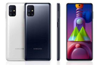 Samsung Galaxy M52 5G. Фото Samsung