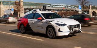 Беспилотная Hyundai Sonata. Фото Яндекс