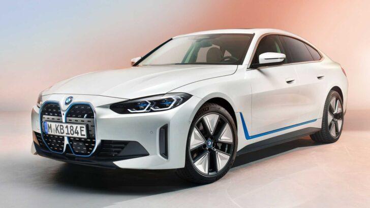 BMW i4. Фото BMW