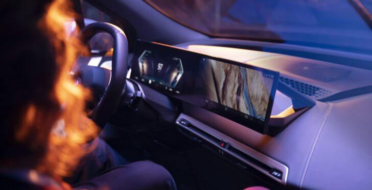 BMW iDrive. Фото BMW