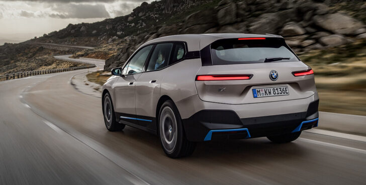BMW iX. Фото BMW