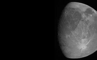 Снимок Ганимеда с зонда Juno. Фото NASA/JPL-Caltech/SwRI/MSSS